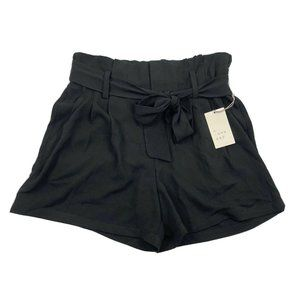 NWT A New Day Women's High Rise Paperbag Shorts M